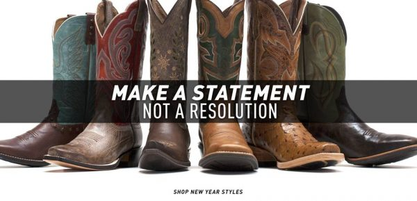 Ariat Boots - Make a Statement Not a Resolution