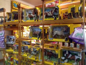 A selection of Breyer Horses Available